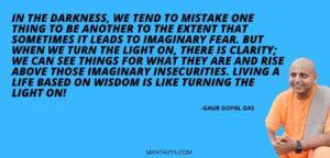Best Gaur Gopal Quotes