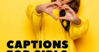 Instagrm Captions For Girls