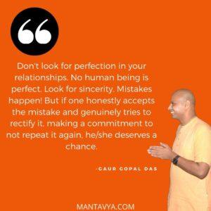 Mantavya quotes of gaur gopal das