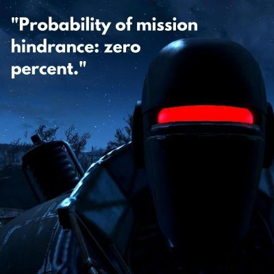 Liberty Prime 3 Quotes on Mission