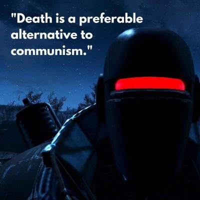 Liberty Prime Quotes on Communism