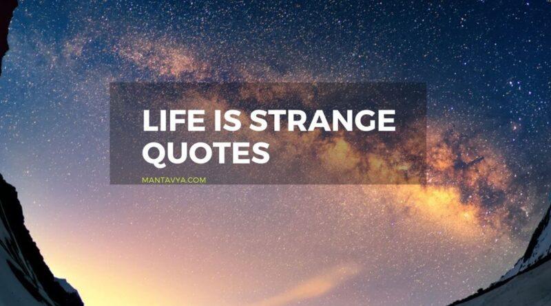 Life is strange quotes