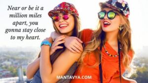 Caption With Best Friend Girl